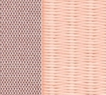 ダイケン和紙表 同系色畳縁 ストリーム 18 薄桜色