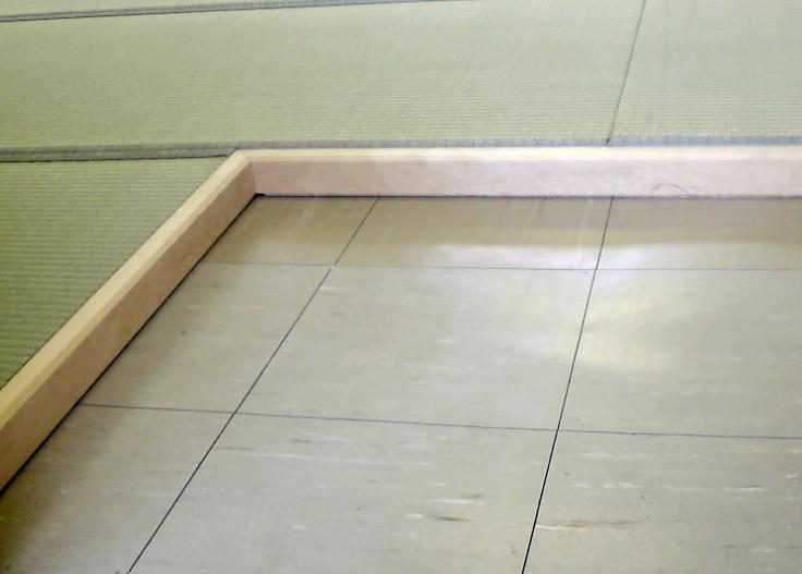 洋間用 簡易木枠